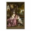 Lady Elizabeth Delmé and Her Children (12×18)