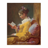 Young Girl Reading (8×10)