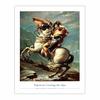 Napoleon Crossing the Alps (8×10)
