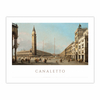Piazza San Marco Looking South and West (12×16)