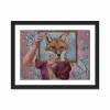 The quick brown fox (12×16)