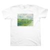 Green Wheat Fields, Auvers (M, White)