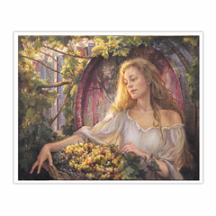 A grape gatherer (16×20)