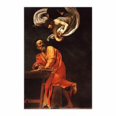 The Inspiration of Saint Matthew (12×18)