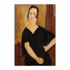 Madame Amédée (Woman with Cigarette) (12×18)