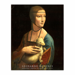 Lady with an Ermine (8×10)