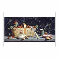 Le Goûter de fraises / The Tasting of strawberries (12×18)