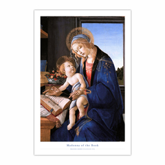 Madonna of the Book (12×18)