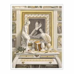 Le pupitre d'Hélène (16×20)