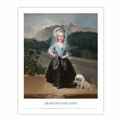 María Teresa de Borbón y Vallabriga, later Condesa de Chinchón (8×10)