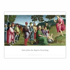 Saint John the Baptist Preaching (12×16)
