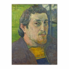 Self-Portrait Dedicated to Carrière (12×16)