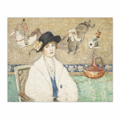 The Black Hat (Miss Dorothy Hart) (8×10)
