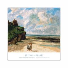 The Beach at Saint-Aubin-sur-Mer (12×12)