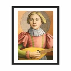 GIRL WITH A MANDOLIN (16×20)