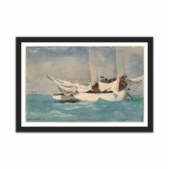 Key West, Hauling Anchor (12×18)