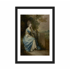 Portrait of Anne, Countess of Chesterfield (12×18)