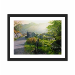Rocky Valley in Snowdonia (12×16)