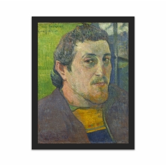 Self-Portrait Dedicated to Carrière (12×16)