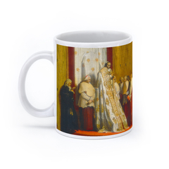 Pope Pius VII in the Sistine Chapel (11oz, White)