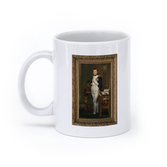 The Emperor Napoleon in His Study at the Tuileries (11oz, White)