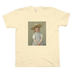 Child in a Straw Hat (M, Butter)