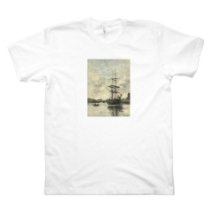 Ship on the Touques (M, White)