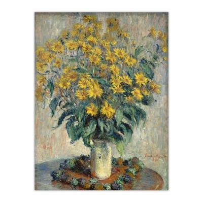 Jerusalem Artichoke Flowers (12×16)