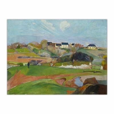 Landscape at Le Pouldu (12×16)