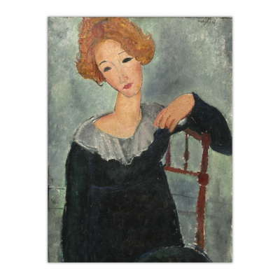 Woman with Red Hair (12×16)
