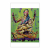 """Themis with child in the """"Lotus""""position (12×18)"""