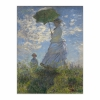 Woman with a Parasol - Madame Monet and Her Son (12×16)