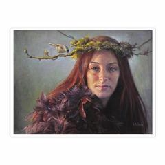 Woodland fairy (12×16)