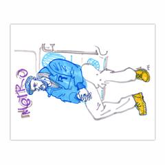 subway sketch (8×10)