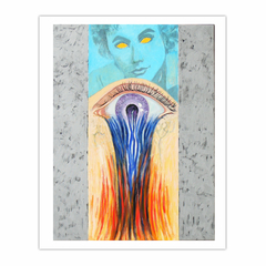 Bleeding Eye (2011) oil on linen, (8×10)