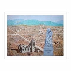 'Hiroshima 1945' (2008). Oil on linen. 100 x 140 cm. (12×16)