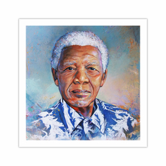 Madiba in blue (12×12)