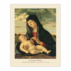 Madonna and Child in a Landscape (8×10)