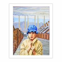 'Margaret Clark in Newcastle circa 1961', (2011). Oil on linen, 90 x 120 cm (8×10)