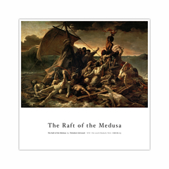 The Raft of the Medusa (12×12)