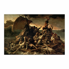 The Raft of the Medusa (12×18)