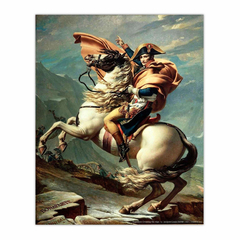 Napoleon Crossing the Alps (8×10)