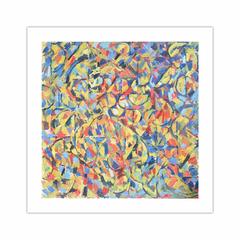'Nude painting', (1958). Oil on hardboard, 122 x 122 cm. (12×12)