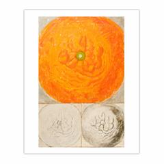 'Orange: colour, line, tone', (1969). Oil on canvas. 92 x 137 cm. (8×10)
