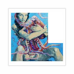 Pink Octopus (12×12)