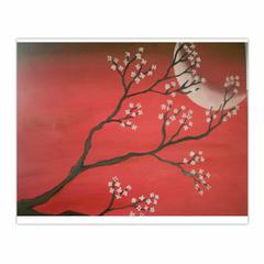 red spring night (8×10)