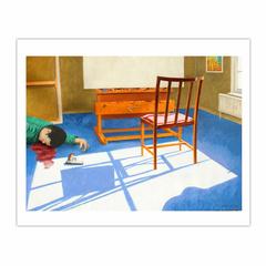 'Suicide: the artist's final career move', (2006) 140 x 100 cm, Oil on Linen. (8×10)