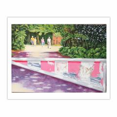 'The Barrier', (2006), 140 x 100 cm. Oil on Linen. (8×10)