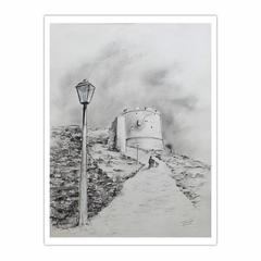 footpath to the Castle of Salonica - Ανεβαίνοντας στα Κάστρα της Θεσσαλονίκης