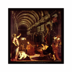 Finding of the body of St Mark (12×12)